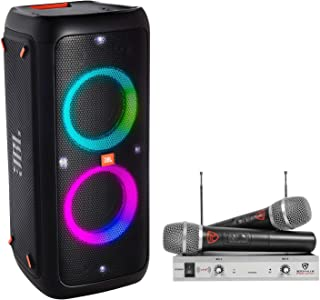 tailgate speaker with mic and led lightshow