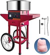 Husuper Máquina de Algodón de Azúcar 220V Rojo Algodonera