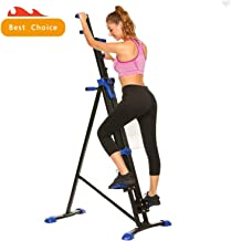 Miageek Steel Alloy Stair Climber Machine, Home Gym Exercise Folding Climbing Machine,Vertical Climbing Exercise Machine, Fitness Stepper Gym, Whole Body Cardio Workout Training