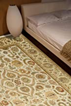 Jaipur Rugs Classic Ivory 4X6 Feet Wool and Silk Oriental Rug and Carpet