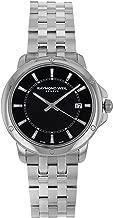 Raymond Weil Tango Black Dial Stainless Steel Quartz Male Watch 5591-ST-20001