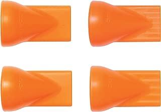 Loc-Line Coolant Hose Component, Acetal Copolymer, 4 Piece Flat Nozzle Assortment, 1/4