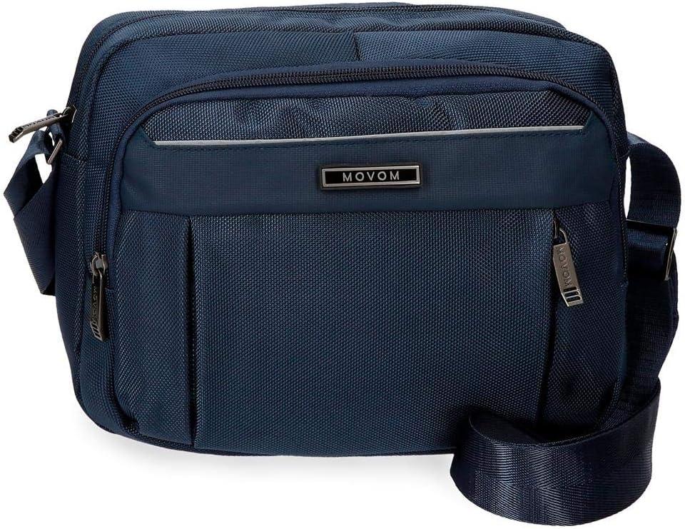 Movom Clark Messenger Bag 27 価格 交渉 送料無料 Azul 5.81 centimeters 1年保証 Blue