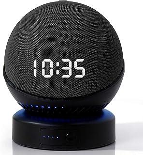 $38 » Battery Base for Dot (4th Gen) to Make Dot 4 Portable,Wireless Charger for Dot 4 (The Speaker Not Included ) (DT4 Black)