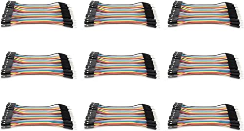 9 x Quantity of Walkera courirner 250 Racer Dupont 40 Qty 10cm 2.54mm 1pin Female to Male Jumper Wire Cables - FAST FROM Orlando, Florida USA