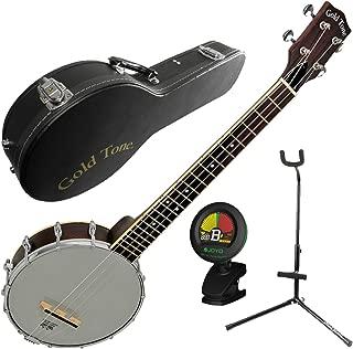 Gold Tone BUB Baritone Banjo Uke Banjolele w/Case, Tuner, and Stand