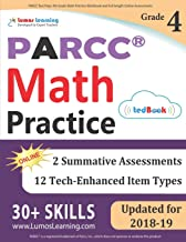 PARCC Test Prep: 4th Grade Math Practice Workbook and Full-length Online Assessments: PARCC Study Guide