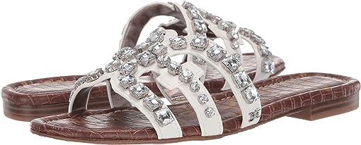Bright White Nappa Leather