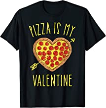 Pizza Is My Valentine T Shirt Valentines Day for Boys Kids