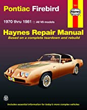 Pontiac Firebird V8 (70-81) Haynes Repair Manual