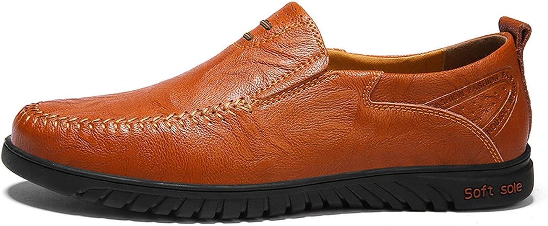 FJ-Direct Men shoes Genuine Leather Comfortable Men Casual shoes Footwear shoes Flats for Men Slip On Lazy shoes shoes Hombre