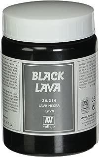 Vallejo Black Lava Paste, 200ml