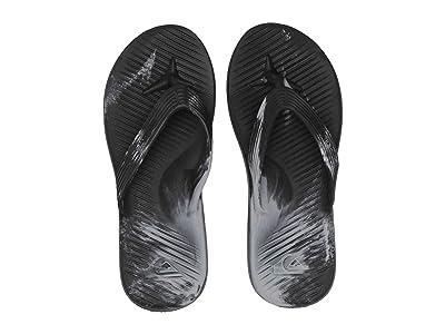 Quiksilver Salvage Flip-Flops (Black/Blue/Grey) Men