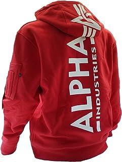 Alpha Industries Sudadera con capucha y estampado trasero.