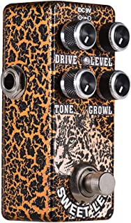 Muslady Overdrive Guitar Effect Pedal Full Metal Shell True Bypass XVIVE O2 SWEET LEO