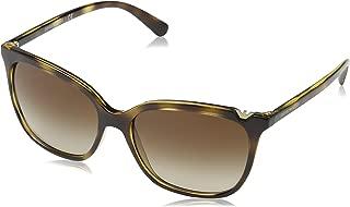 EA4094 502613 Dark Havana EA4094 Square Sunglasses Lens Category