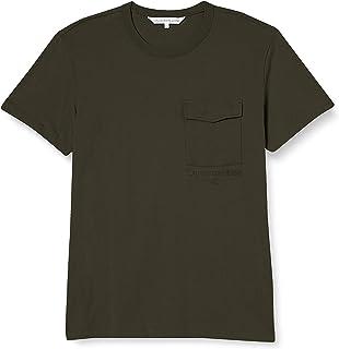Calvin Klein Instit Utility Pocket tee Camisa para Hombre