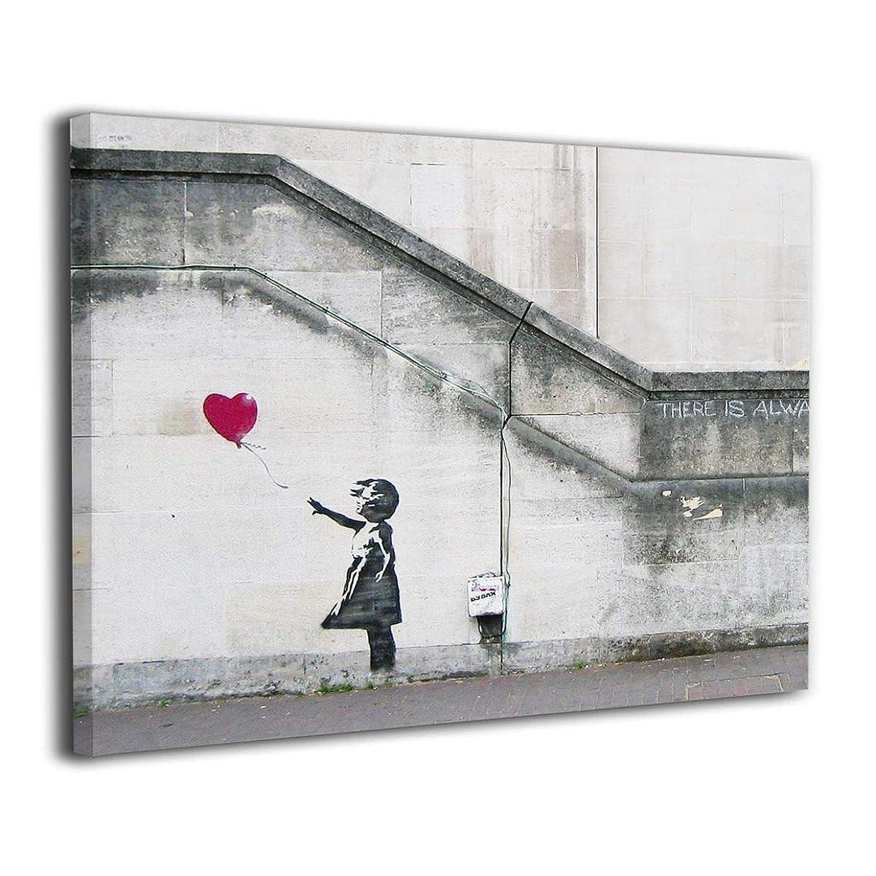 雄弁家取る香りBanksy バンクシー アートパネル 木製の枠 アートポスター 装飾画 壁掛け 部屋飾り 客間絵画 現代 キャンバス インテリア絵画