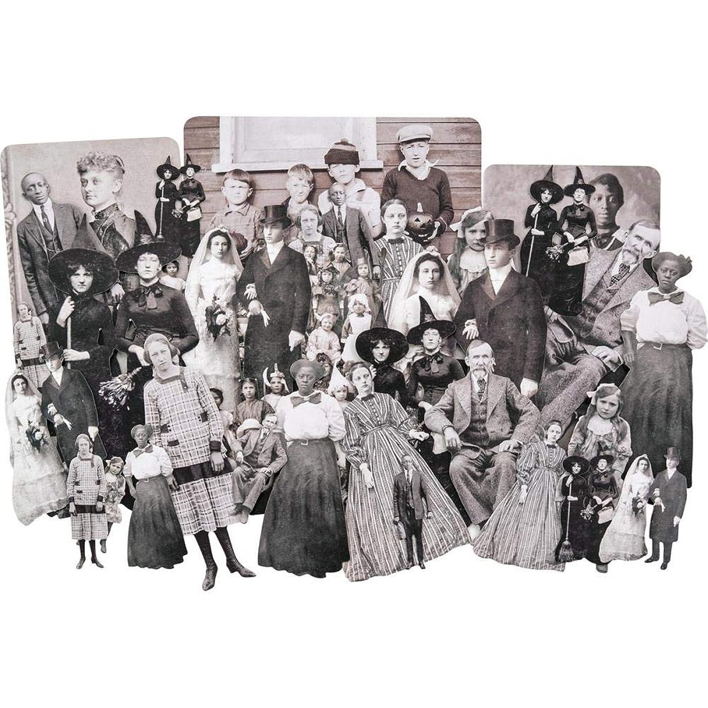 Tim Holtz TH93723 Halloween Paper Dolls Ancestor None
