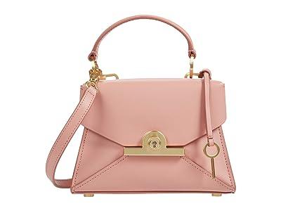 ZAC Zac Posen Amelia Mini Satchel (Coral) Handbags