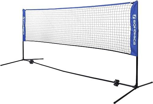 Garden Sports Portable Standard Training Badminton Volleyball Tennis Net Set UK