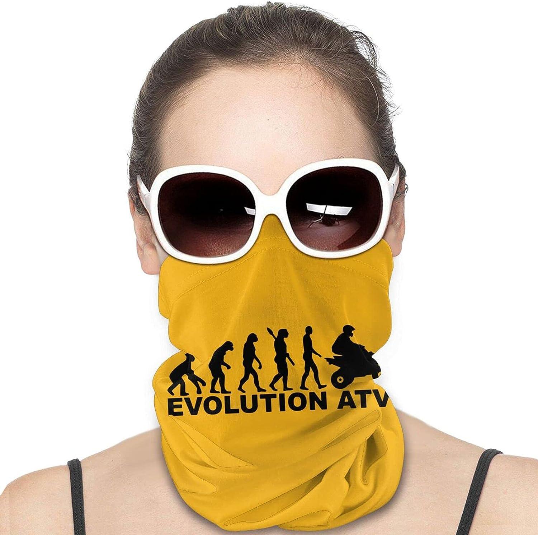 Evolution ATV Quad Bike Neck Gaiter Windproof Face Cover Balaclava Outdoors Magic Scarf Headband for Men Women Motorcycling Fishing Running Climbing
