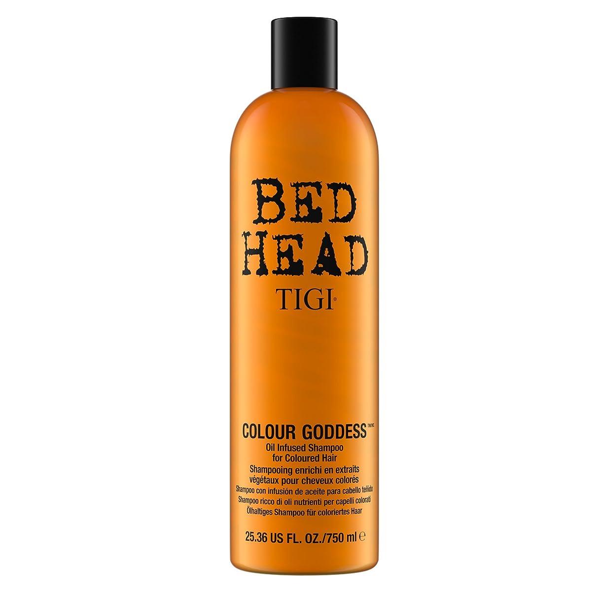 義務付けられたケイ素帝国TIGI Bed Head Colour Goddess Oil Infused Shampoo 750ml by Bed Head