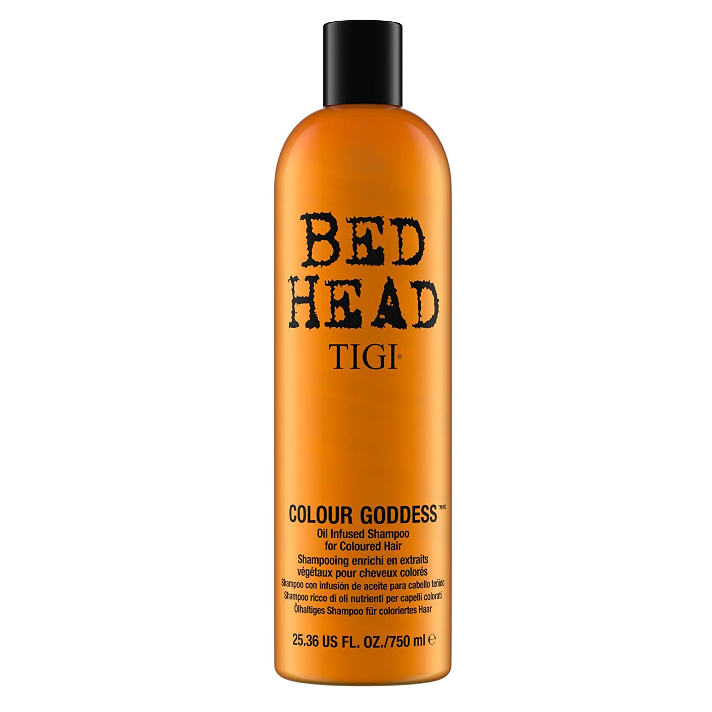 新聞偽善者お香TIGI Bed Head Colour Goddess Oil Infused Shampoo 750ml by Bed Head