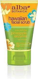 Alba Botanica Pineapple Enzyme Facial Scrub 118 ml (並行輸入品)