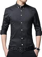 pinstripe shirt black