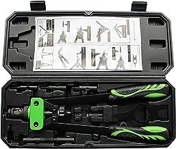 YTXTT Conjunto de rebites de mão 5 em 1 para instrumentos automotivos de móveis ferroviários
