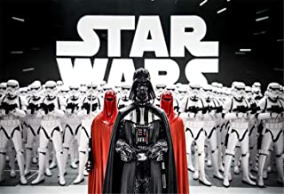 Star Wars Photography Backdrop for Boy Birthday Party 7x5ft Photography Background Birthday Party Banner for Teens Customized