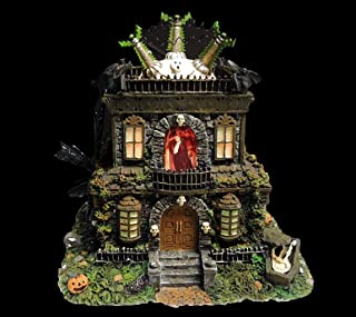 Hawthorne Village Universal Studios Munsters Collection Grandpa's Lab Collectible Halloween House Display