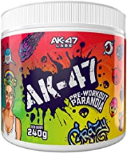 AK-47 Labs Paranoia Pre – Workout Energy Drink Powder with Beta Alanine Caffeine Niacin Taurine Vitamin C and Vitamin B Complex 240g 30 Servings Red Berry Estimated Price : £ 19,94