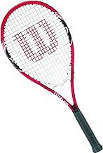 """Wilson Federer Tennis Racket, 4 3/8"""" - Red/White"""