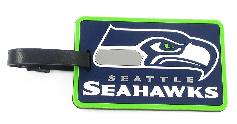 aminco Seattle Seahawks - NFL Soft Luggage Bag Tag