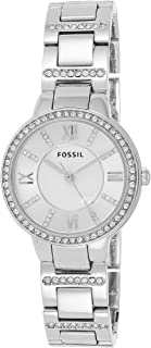 Fossil Virginia for Women - Analog Casual Stainless Steel Band Watch - ES3282