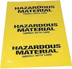 Sellstrom S68180 Hazardous Waste Bag with Ties