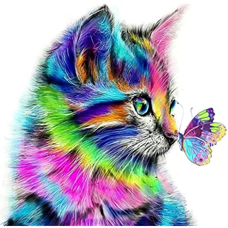 Dipingere con I Numeri Kit con Pennelli E Pigmento Acrilico Pittura A Olio su Tela Pennelli per Decorazione della Casa 40x50cm Jungobiu Dipinto con I Numeri per Adulti Tigre Animale