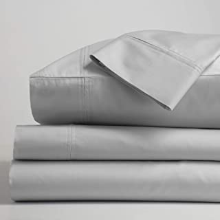 Gryphon Home Luxury Suite Sheet Set King, Light Gray