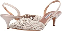 Ivory Lace Leather
