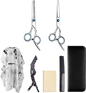 Professional Barber Hair Cutting Scissors/Thinning Scissors/Professional Barber/Salon Razor Edge Tools Set/Salon Cape Grea...