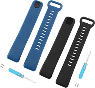 Wrist Strap Compatible with 2 pro Smart Watch Black Blue
