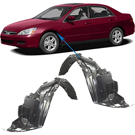 Trade Vehicle Parts FD1407 Front Wing Arch Liner Splash Guard Passenger Side/ Compatible With Focus 2005-2011