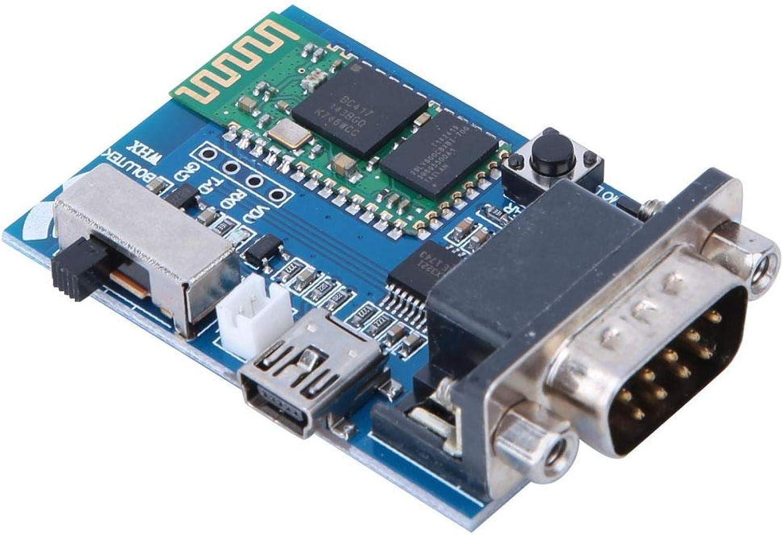 Placa adaptadora de Serie Bluetooth Master Slave 2 Modos 5V Comunicación Mini USB Módulo de Puerto Serie Bluetooth RS232