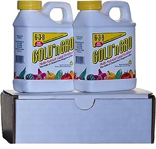 GOLD'n GRO 6-3-9+4% Sulfur Two-Pak Liquid Fertilizer Concentrate