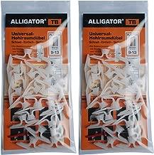 50/pour murs creux TD Toggler Alligator pour 23 26/mm Disques