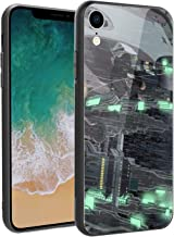 for iPhone7 and iPhone8, Naruto 568 Design Tempered Glass Phone Case, Anti-Scratch Soft Silicone Bumper Ultra-Thin iPhone7 and iPhone8 Cover for Teens and Adults - Six Paths of Pain