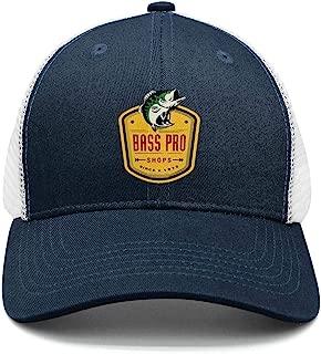 Bass-Pro-Shops-Logo- Snapback Cap Casual Mesh Twill