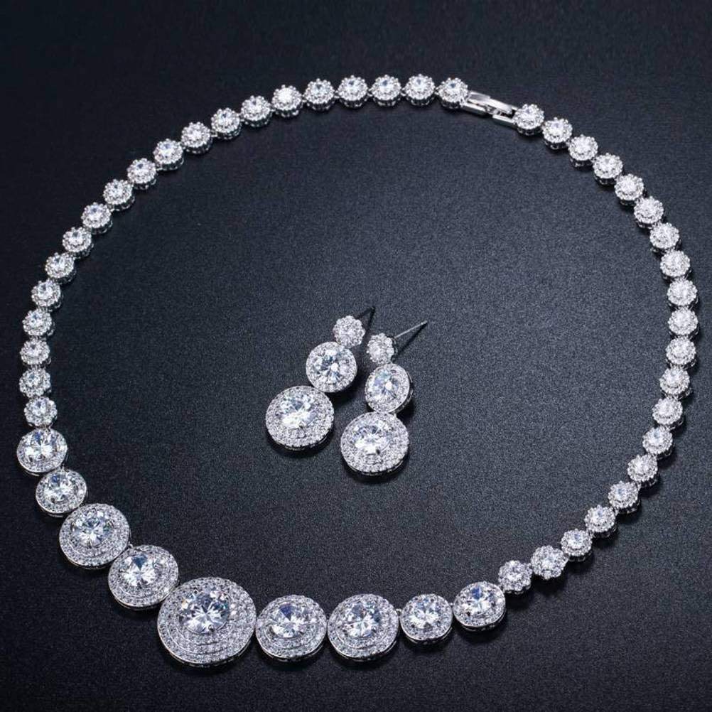 QiongXin Earring Pendant Necklace All items free shipping Jewelry Bridal Sets Women for In a popularity